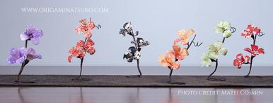 Floricei din hârtie japoneză