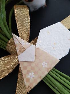 Tablou galben origami.jpg