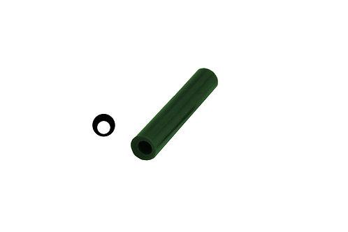 Ferris Wax, File-A-Wax Ring Tube, Off-Center Hole, Green:
