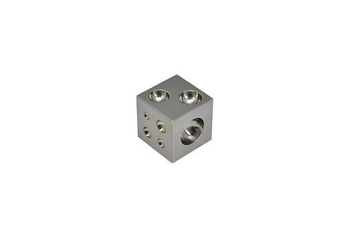 "Mini Steel Dapping Block, 1"" x 1"""