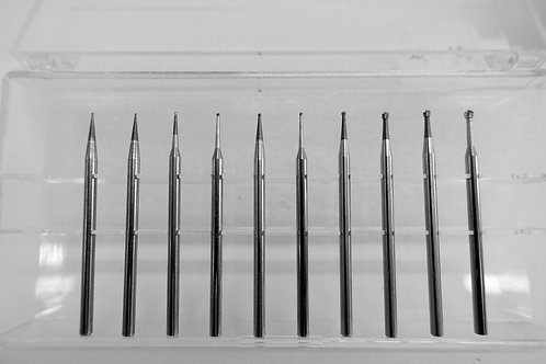 Carbide Ball Bur Set 004-018
