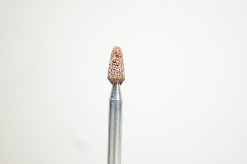 """Ruby Mounted Point, .106"""" to .065"""" Diameter, .237"""" Head Length, 3/32"""" Shank"""