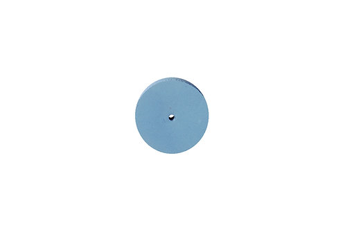 "Silicone Square Edge Wheel, 7/8"" x 1/8"", Blue, 800 Grit:"