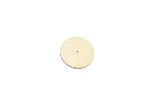 "Solid Felt Wheel Buff, 2-1/2"" x 1/2"""