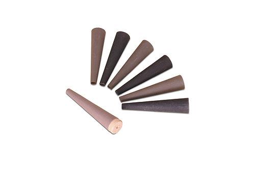 Paper Ring Shell 2 Pieces Set -  Wood Mandrels