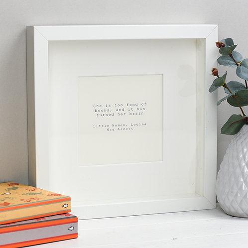 Little Women Print