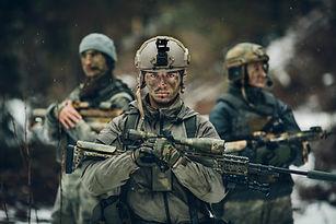 Les soldats de l'armée