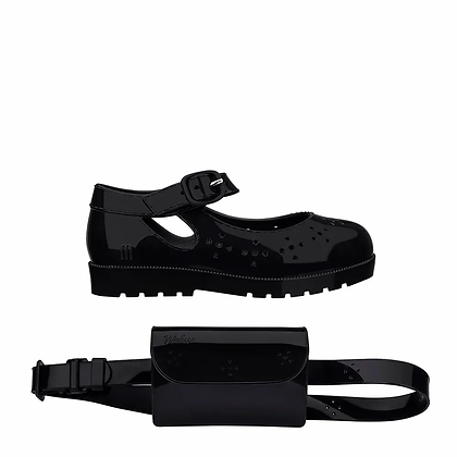 MINI MELISSA COM POCHETE מיני מליסה נעליים + תיק ריחני