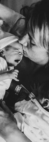 Fotografia documental de recien nacidos