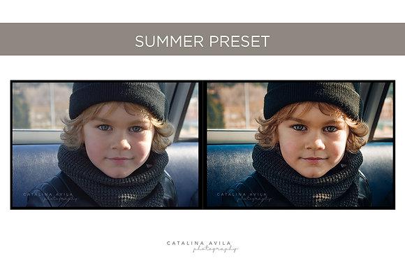 SUMMER HOUSE - 4 PRESETS PARA JPG (versiones nuevas)