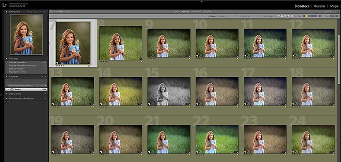 Los 21 presets favoritos de CATALINA AVILA / 2 versiones