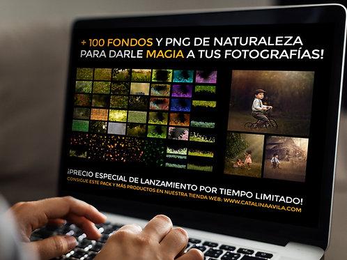 +100 FONDOS NATURALEZA y PNG - colección 2
