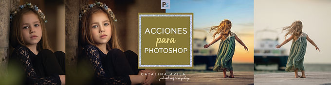 + de 25 ACCIONES PARA PHOTOSHOP - exteriores