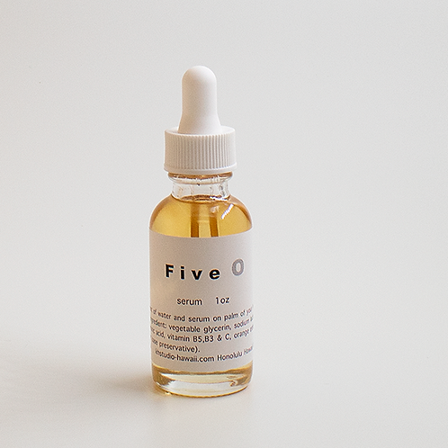 「five  O」plant base serum