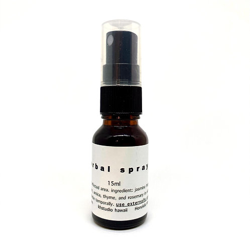 herbal spray