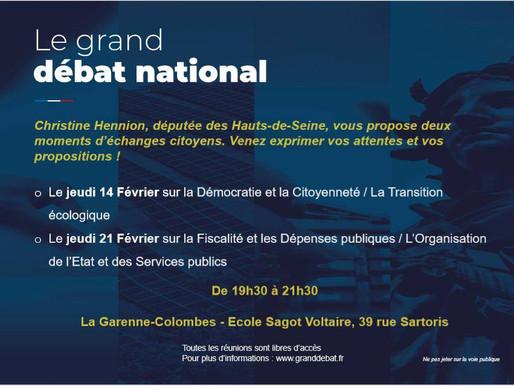Grand débat national à La Garenne-Colombes