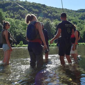 Une soirée pêche au Toc entre femmes