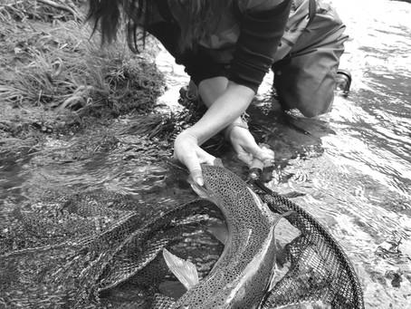 Lenka Stary, la pêche au féminin