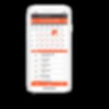 Smartphone mostrando na tela o aplicativo para clínica odontológica e estética Clinicorp