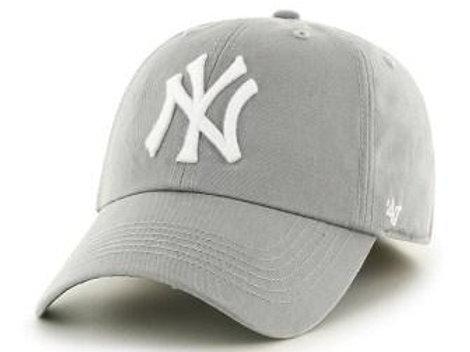 כובע NY אפור