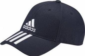 כובע אדידס כחול שלושה פסים