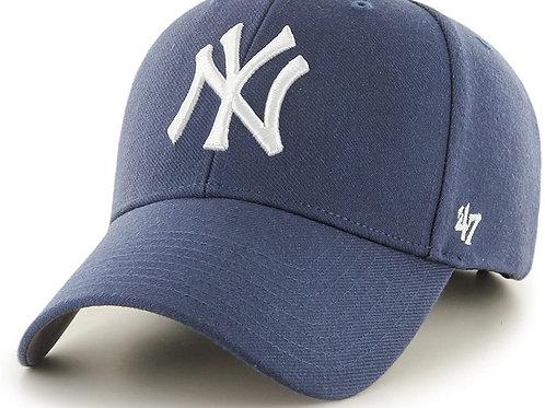 כובע ניו יורק כחול