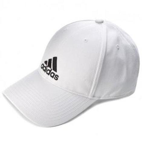 כובע אדידס לבן קלאסי