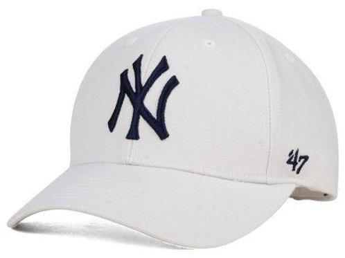 כובע NY לבן