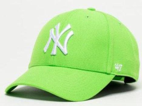 כובע ניו יורק ירוק