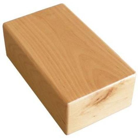 קוביית יוגה מעץ