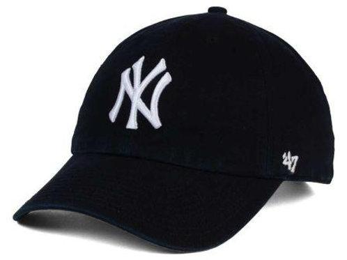 כובע NY שחור (מותג 47)