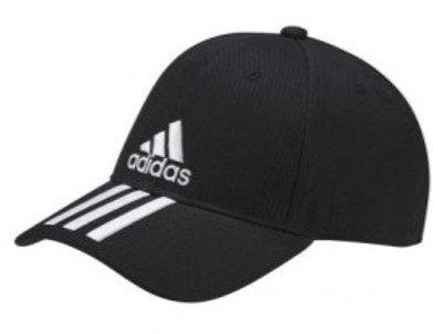 כובע אדידס שחור שלושה פסים