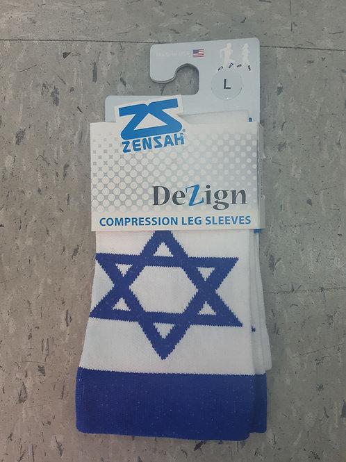 שרוולי לחץ לרגליים - דגל ישראל