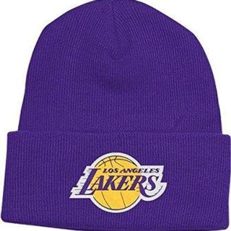 כובע צמר לוס אנג'לס לייקרס