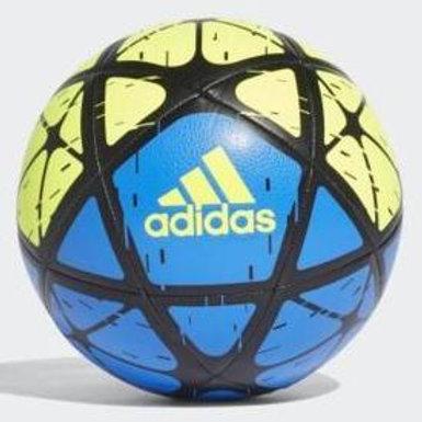 כדורגל אדידס צהוב/כחול