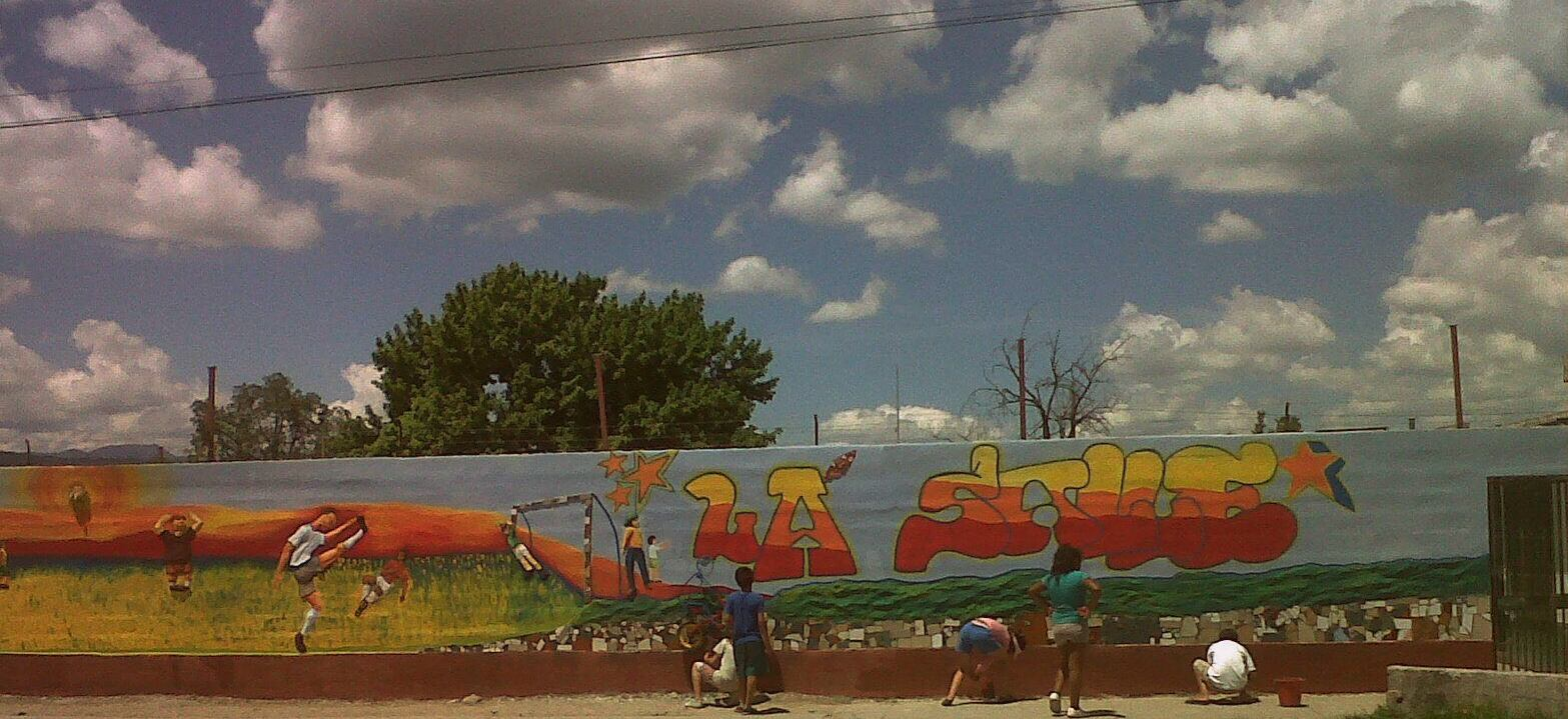 Eljuegodeunpibe Murales Educativos