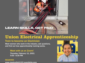 Women's Meetup: Exploration of Union Electrical Apprenticeship and Careers