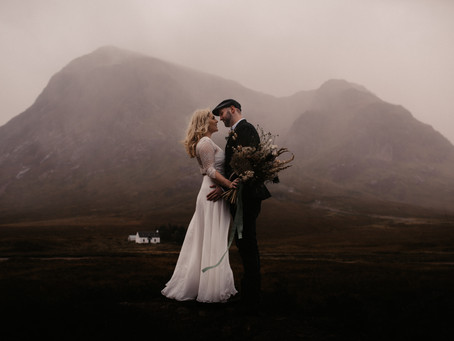 Scottish Highlands Elopement | Featured on BELOVED STORIES
