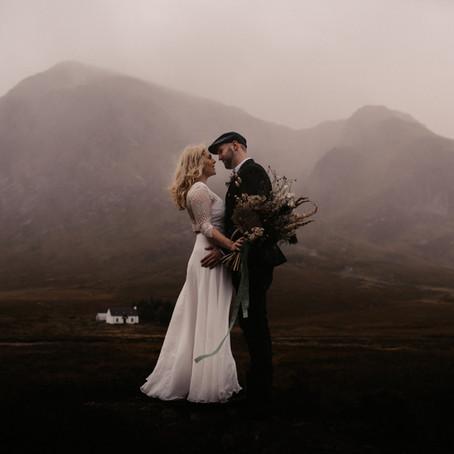 Scottish Highlands Elopement | Featured on BELOVED STORIES