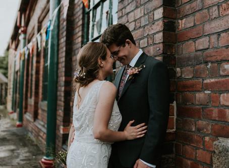Industrial DIY Wedding | Elsecar Heritage Centre
