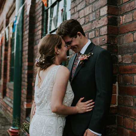 Industrial DIY Wedding | Elsecar Heritage Centre