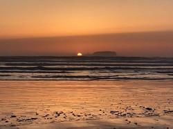 Sunset from Tofino beach