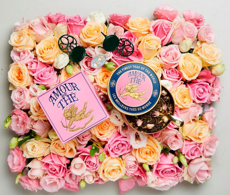 愛の紅茶「Amour de Thé 」 2/15より限定販売