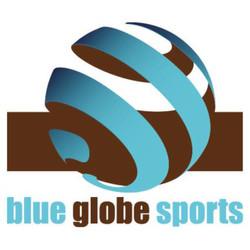blue globe large