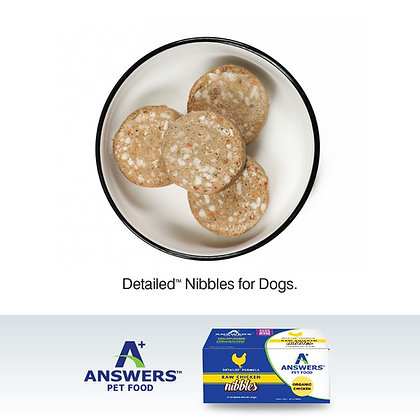 Answers Frozen Raw Nibbles (2.2lb)