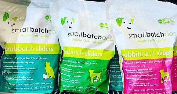 Small Batch Frozen Raw Dog Sliders 3lb