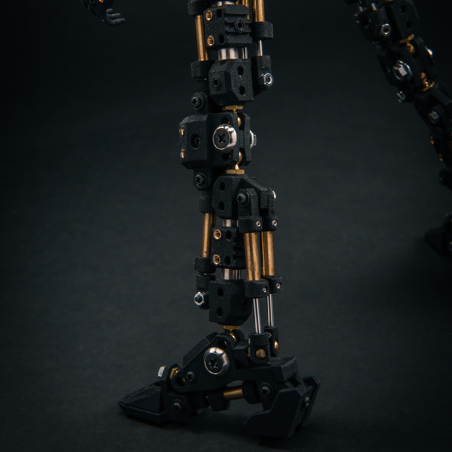 ロボキネティックフレーム・脚部・背面