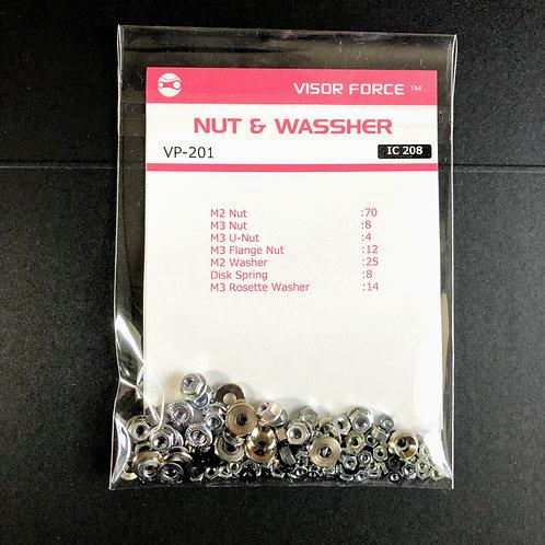Kinetic Frame-Nut & Washer Bag