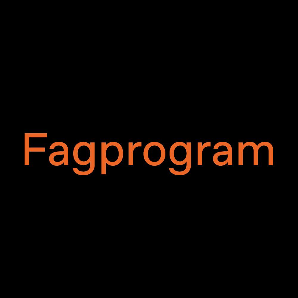 Fagprogram