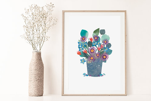 Florals III - Limited Edition Giclée Print